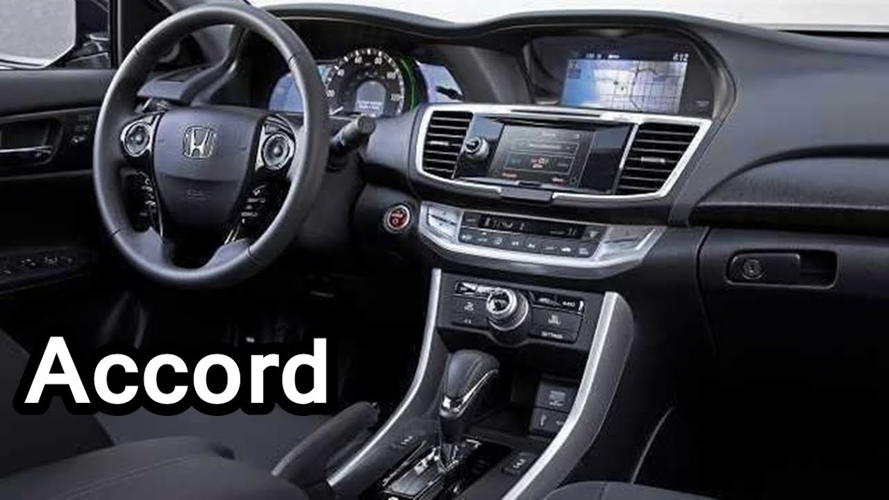2016 honda accord interior youtube for Honda civic 20017