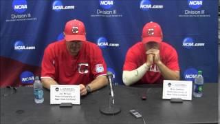 Cortland State baseball postgame: Division III World Series Game 10