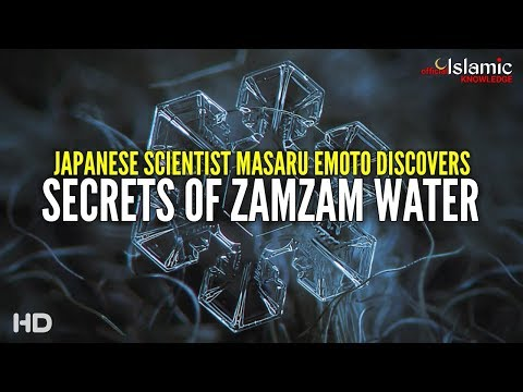 Secrets of zamzam water
