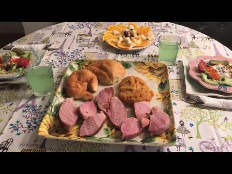 I Made my Cheap Easy Easter Dinner in 45 Minutes-Quick/Easy/Cheap/Festive