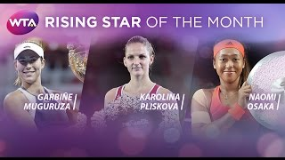 2015 WTA Rising Star of the Month Finalists | October