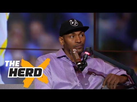 Metta World Peace talks Warriors winning NBA Finals and more | THE HERD (FULL INTERVIEW)