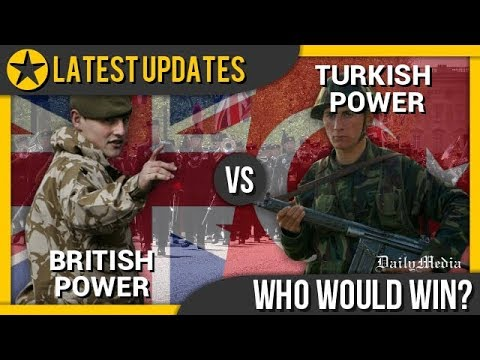 United Kingdom vs Turkey - Military Power Comparison 2018 (L