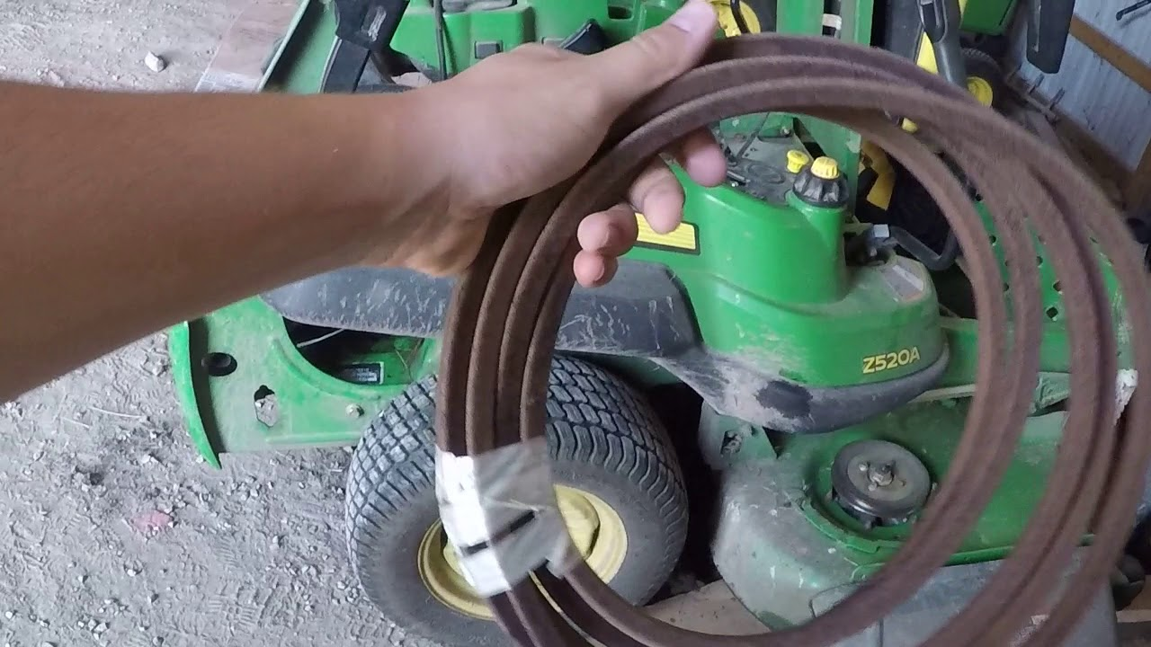 small resolution of john deere z520a is down