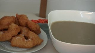how to make pinkaso(hausa flour dumplings) new video