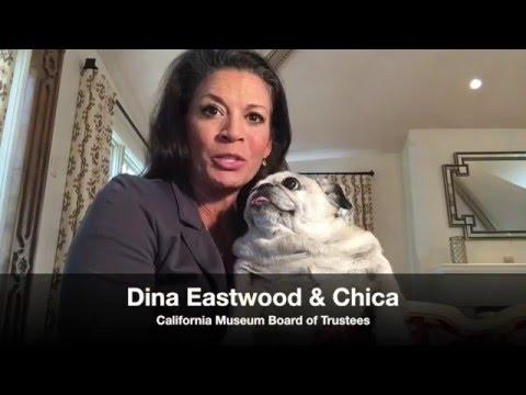 California Museum Board Member Dina Eastwood & Chica