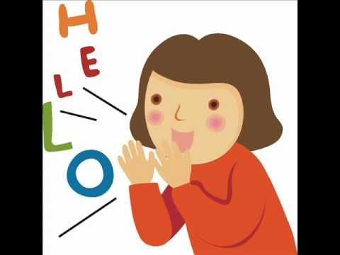saying hello bye plus basic greetings youtube
