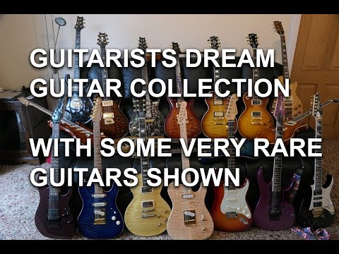 Unique Amazing Guitar Collection : Some of the finest guitars in the world - tonymckenziecom
