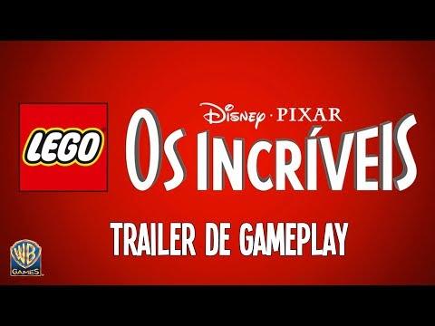 LEGO Disney•Pixar Os Incríveis - Trailer de Gameplay Família Pêra