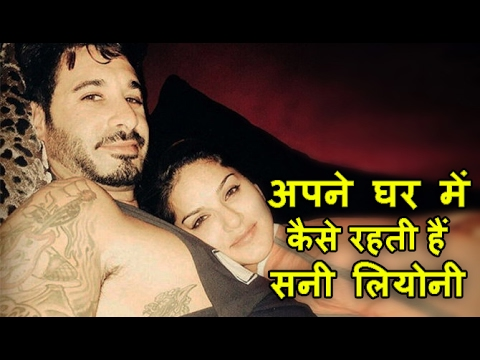 Sunny Leone style at her home |...