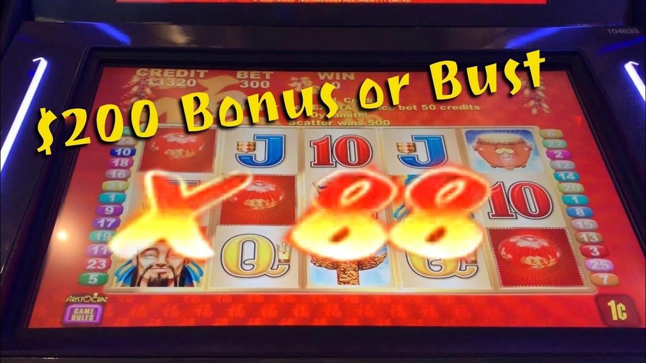 200 Bonus Slots
