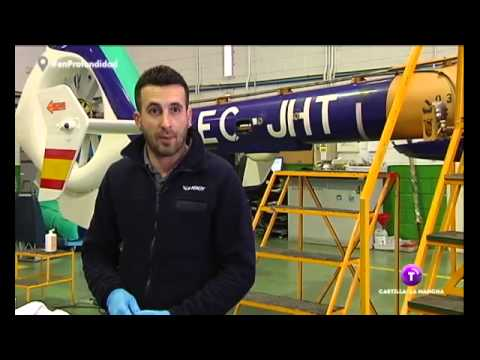 2015-02 INAER Spain - Engineering - News piece maintenance training Albacete