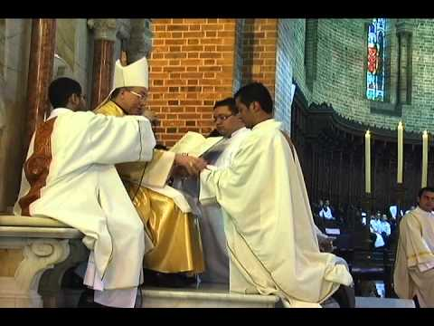 Ordenaciones Presbiterales Salesianos de Don Bosco corto