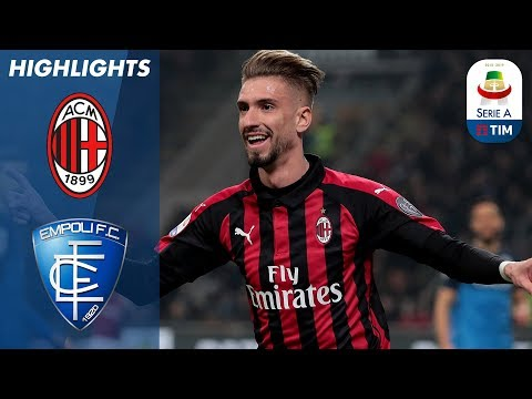 Milan 3-0 Empoli | Castillejo Completes Thumping Win For Hosts | Serie A