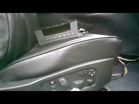 Комфортные сидения BMW Е60 массаж+вентиляция+подогрев  автономная работа