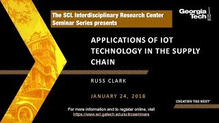 Applications of IOT Technology in the Supply Chain