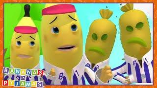 SPOOKED Bananas! | Cartoons for Kids | Bananas In Pyjamas