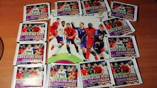 «ROAD TO UEFA EURO 2020» Panini - ОБЗОР НОВИНКИ {|} Открытие 12-и пачек + Обзор журнала