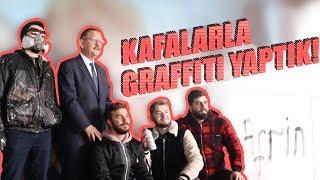 KAFALARLA GRAFFİTİ YAPTIK! (Çevre ve Şehircilik Bakanı Bizi Yakaladı)