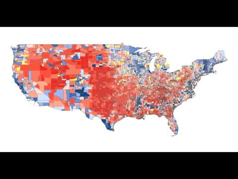 US Elections: Urban vs Rural Voting Patterns
