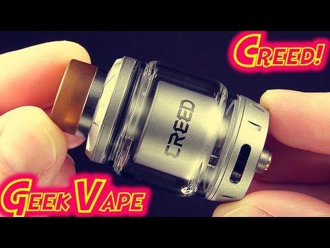The Geek Vape Creed RTA!