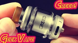 The Geek Vape Creed RTA!