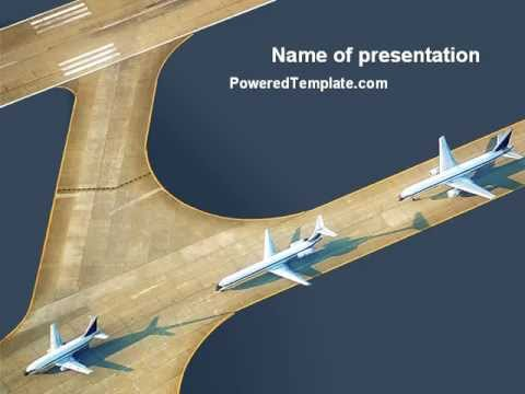 Airport powerpoint template by poweredtemplate youtube airport powerpoint template by poweredtemplate toneelgroepblik Images