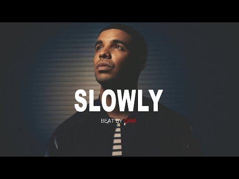 """SLOWLY"" Dope Trap beat Instrumental | Rap Hip Hop Beat | QAM"