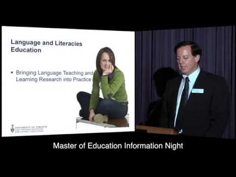 OISE Master of Education Information Night