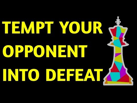 Chess Opening Tricks & Traps in Queen's Gambit Accepted & PUZZLE | Best Strategy, Moves & Ideas