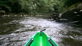 Au fil de la Sioule #1 : la descente des gorges de Chouvigny en canoë