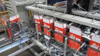 Упаковочное оборудование. Линия фасовки в картонные коробки.(http://inta.org.ua Данная линия предназначена для автоматической фасовки и упаковки сыпучих продуктов в картонные..., 2015-03-12T15:50:26.000Z)