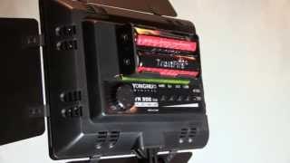 Видео свет 300 светодиодов с пультом ДУ(Небольшой обзор и тест светодиодного света Yongnuo YN 300. Покупал тут: ..., 2013-05-04T20:39:43.000Z)
