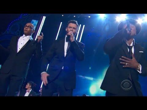 T.I, LL Cool J and Hugh Jackman Perform 'Music Man' Rap at Tony Awards 2014