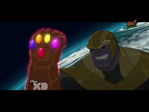 "Avengers Assemble Hindi S 2 Ep 13 ""Thanos Triumphant"" HD"