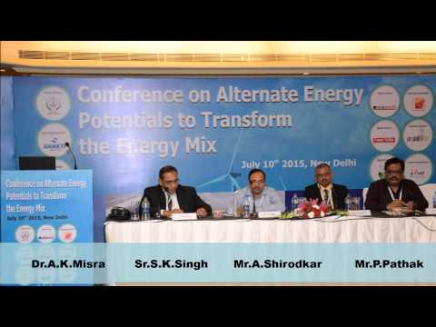 Conference on Alternate Energy :10th July 2015 New Delhi