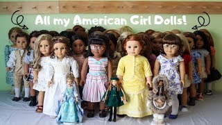All my AG Dolls! HUGE AG COLLECTION   (October 2019)