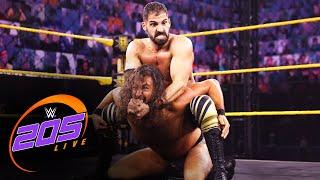 August Grey vs. Ariya Daivari: WWE 205 Live, June 4, 2021
