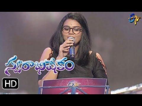 Andamaina Manasulo Song   Pranavi Performance   Swarabhishekam   15th October 2017   ETV  Telugu