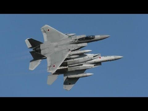【2019 小松基地航空祭】最高の航空祭の幕開け F-15 EAGLE オープニングフライト JASDF KOMATSU AIR SHOW 2019.9.16