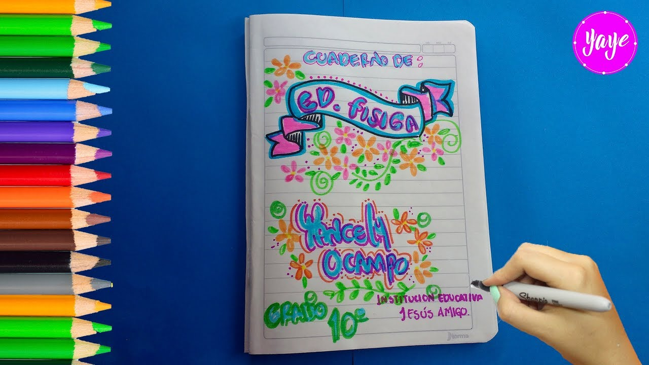 IDEAS PARA MARCAR CUADERNOS Cómo marcar cuaderno de Ed