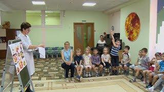 Пензенским дошколятам рассказали о здоровом питании