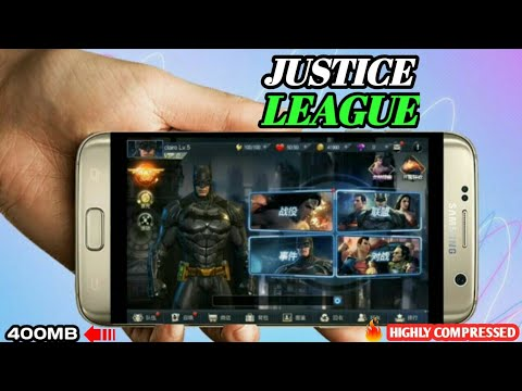 Justice League Game On Your Android!!400mb Only!!with Gameplay!! Hindi ! Jaldi Dekho!! ✌️