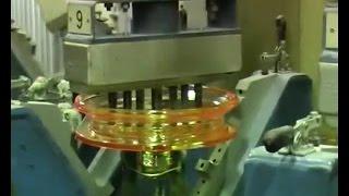 Производство подвесных стеклянных изоляторов (Production of suspension glass insulators)(, 2014-08-14T11:00:00.000Z)