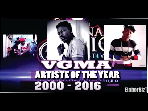 Ghana Music Awards Artiste of the Year 2000 to 2016, who wins 2017