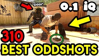 BLIND ENEMY *0.1 IQ* - CS:GO BEST ODDSHOTS #310
