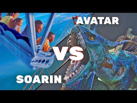 SOARIN vs AVATAR FLIGHT OF PASSAGE - ITM Ultimate Attraction Showdown