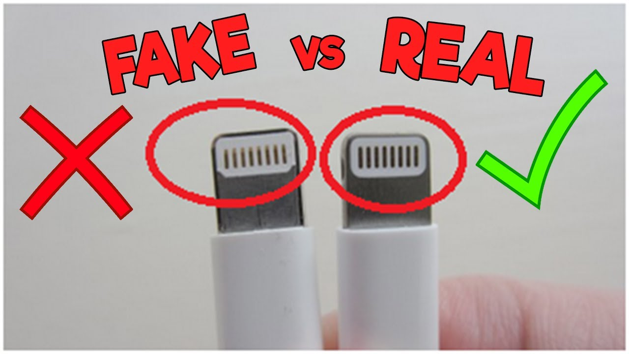 sports shoes 28a2b d3cb8 How To Tell If Your Apple Lightning Cable Charger Is Real or Fake