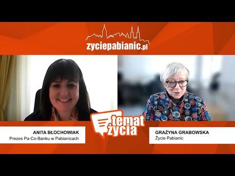 Rozmowa z Anitą Błochowiak - prezes Pa-Co-Banku w Pabianicach