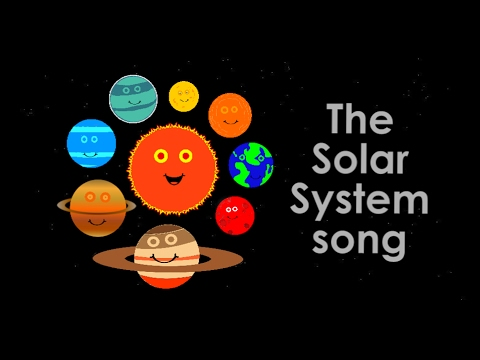 The Solar System/Planets song for children